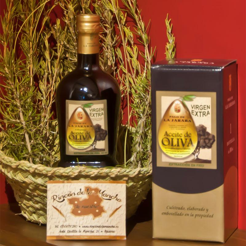 Aceites de Oliva Virgen Extra Pago la Jaraba en Tienda Gourmet Los Alcalareños