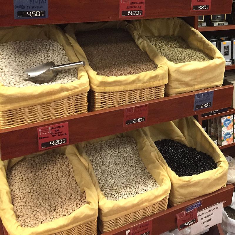 Legumbres gourmet con denominación de origen en Tienda Gourmet Los Alcalareños