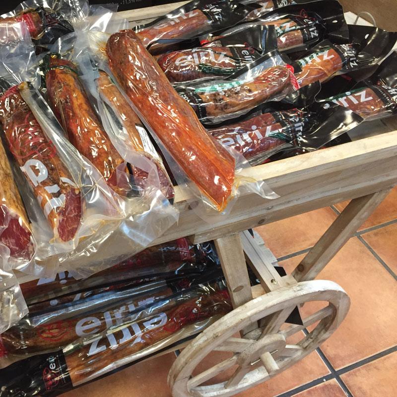 Cañas de Lomos Ibéricas en Tienda Gourmet Los Alcalareños