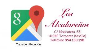 Ubicación Tienda Gourmet Los Alcalareños en Tomares