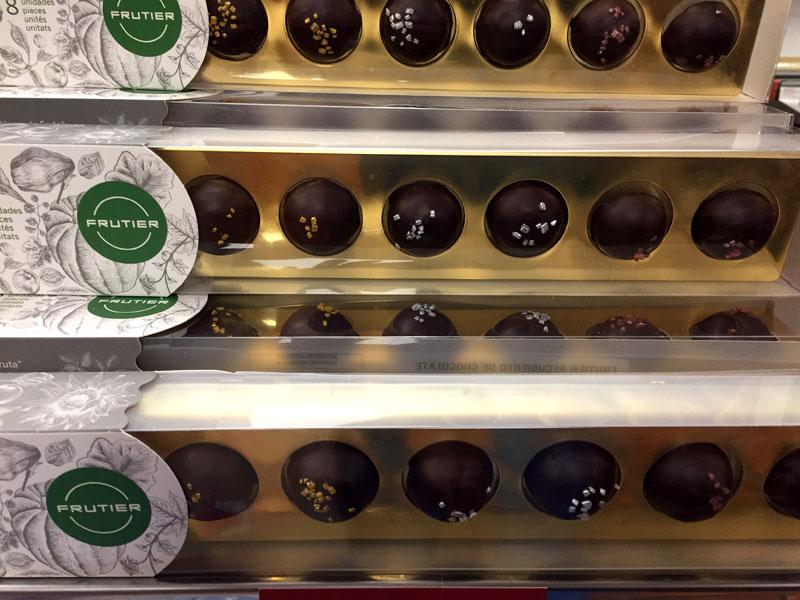 Chocolates Frutier en Sevilla en Los Alcalareños