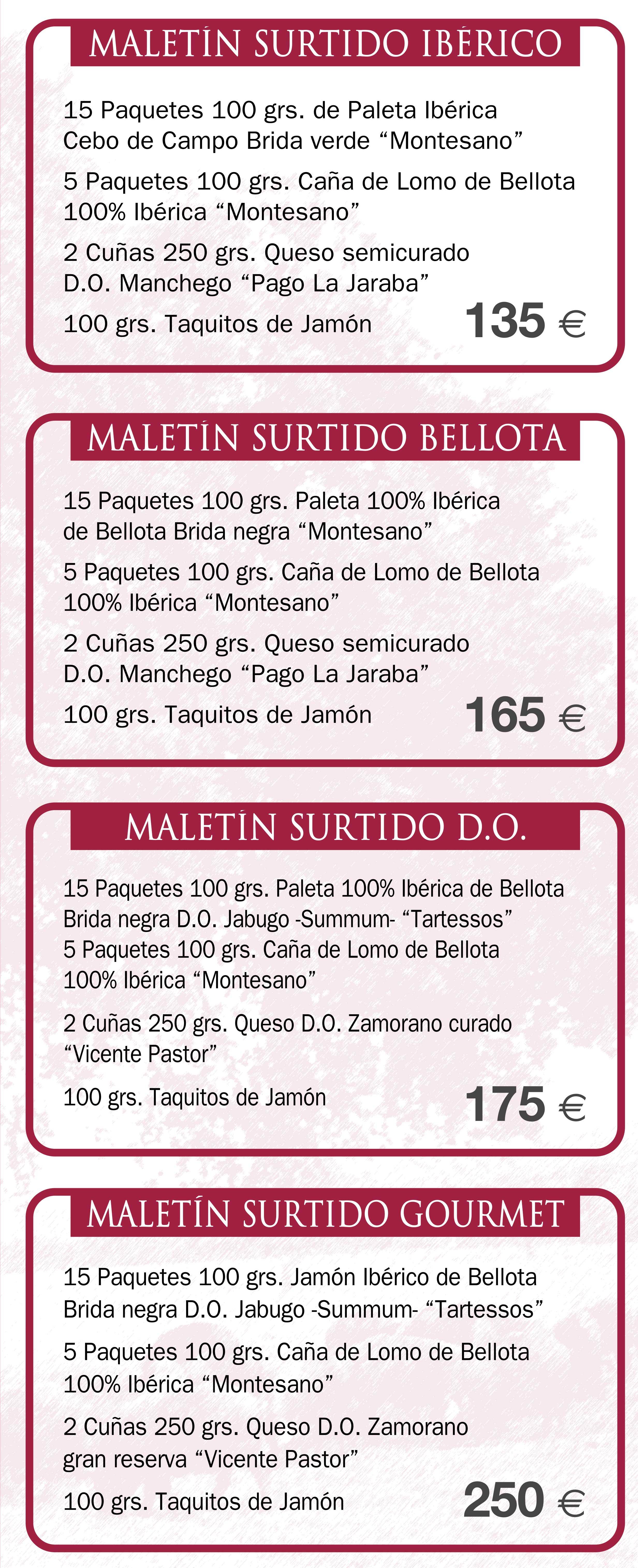 Maletines ibéricos en Huelva