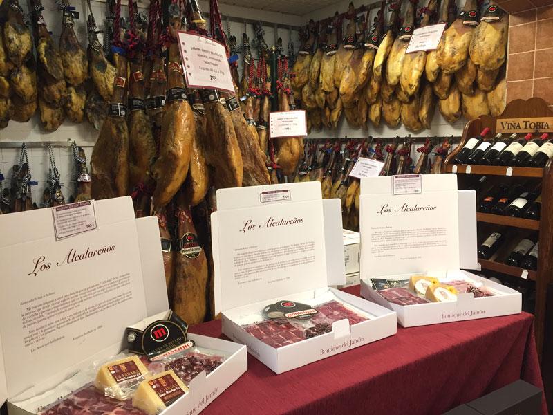 Tienda Gourmet Ibérica Los Alcalareños en Sevilla