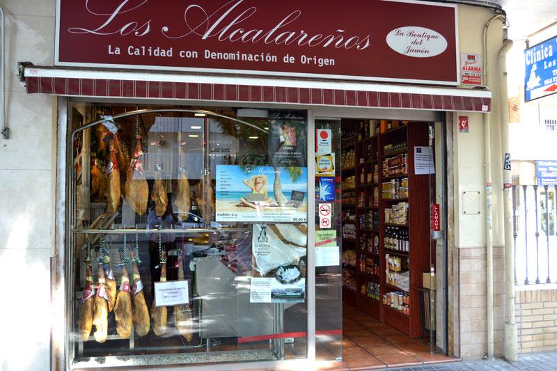 Tienda Gourmet Los Alcalareños en Sevilla