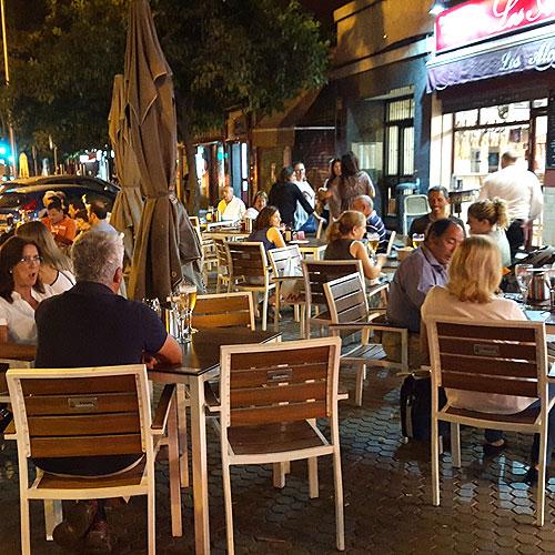 Terraza de Bar Los Alcalareños